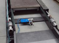 Accumulation conveyor for a production line