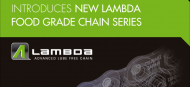 Tsubaki RS Roller Chain new generation Lambda