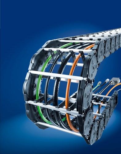 Contra dodává energetické řetězy firmy Kabelschlepp M Series